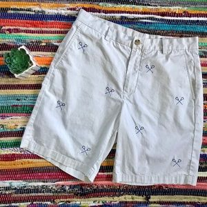 Vineyard Vines ~ Lacrosse khaki shorts